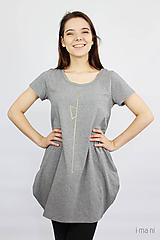 Tričká - Dámske tričko sivé M08 IO19 - 10180023_