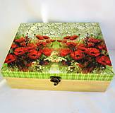 Krabičky - Šperkovnica- maky - 10187515_