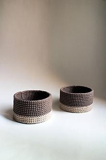 Dekorácie - Košík - svetlý | Hnedý | Béžový I - 10186691_