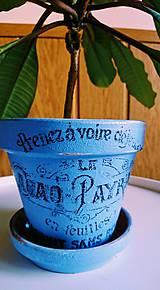 Nádoby - Kvetináč Ø 12,5 cm