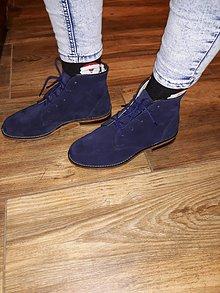 Obuv - Slovenský výrobok hand made dámské zimné topánky - 10186929_