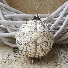 Dekorácie - Vianočná guľa *93 - 10187518_