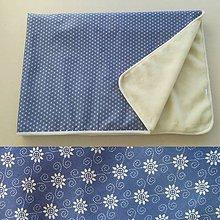Úžitkový textil - Deka/ prikrývka 100% Merino TOP a 100% bavlna FOLKLÓR 140 x 210 cm - 10186093_