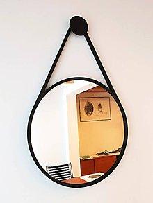 Zrkadlá - Marc Drop Mirror XXL - BLACK - 10186892_