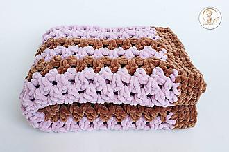 Textil - Háčkovaná detská deka - 10185867_