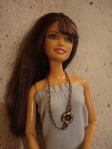 Hračky - Barbie - bronzová kvetinka - 10186835_