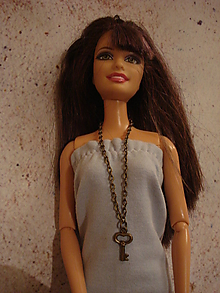 Hračky - Barbie, Ken - retiazka s kľúčikom - 10186988_