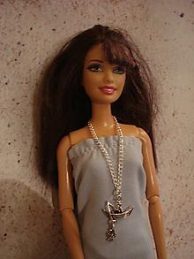 Hračky - Barbie - chytám zlatú rybku! - 10187037_