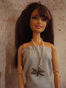 Hračky - Barbie - retiazka s vážkou - 10187121_
