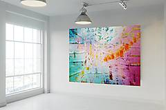 Len sa nadýchni - XXL moderný abstraktný obraz