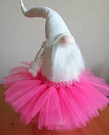 Detské oblečenie - Neónovoružová tutu suknička - 10185637_