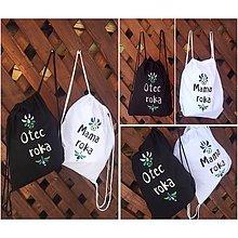 Batohy - Maľované vaky pre najlepších rodičov - 10186051_