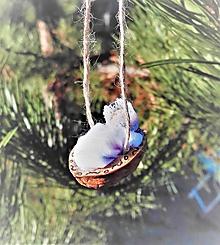 Dekorácie - Vianočný oriešok _ bábätko v perinke IV. - 10185143_