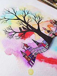 Kresby - Tajná hradná láska - 10186417_
