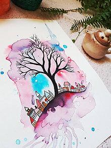 Kresby - Snový kúsok zeme - 10186451_