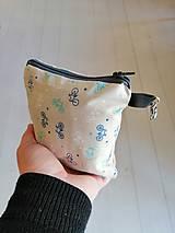 Nákupné tašky - Ekošopka (nákupný set Zerowaste) (Modrá) - 10187014_