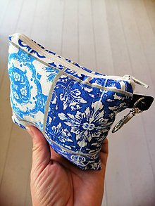 Nákupné tašky - Ekošopka (nákupný set Zerowaste) (Modrá) - 10187026_