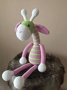 Hračky - žirafka Žužu - 10186999_