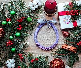 Náhrdelníky - Vianočný náhrdelník - 10185970_