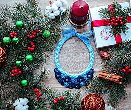 Náhrdelníky - Vianočný náhrdelník - 10186033_