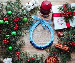 Náhrdelníky - Vianočný náhrdelník - 10186441_