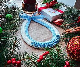 Náhrdelníky - Vianočný náhrdelník - 10186458_