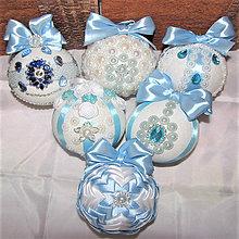 Dekorácie - viktoriánske vianočné gule - 10183438_
