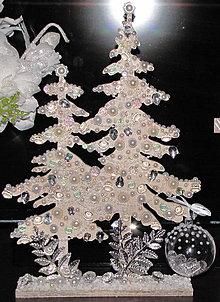 Dekorácie - vianočný strom - 10184534_