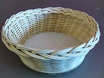 Košíky - Košík - kruh priemer 19 cm - 10185253_
