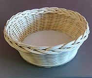 Košíky - Košík - kruh priemer 19 cm - 10185267_