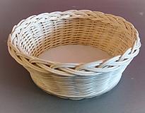 Košíky - Košík - kruh priemer 19 cm - 10185268_