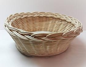 Košíky - Košík - kruh priemer 19 cm - 10186780_