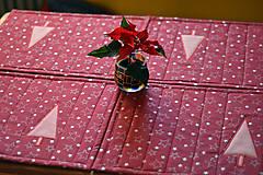 Úžitkový textil - Vianočné prestieranie obojstranné - 10187078_