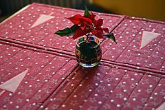 Úžitkový textil - Vianočné prestieranie obojstranné - 10187079_
