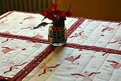 Úžitkový textil - Vianočné prestieranie obojstranné - 10187080_