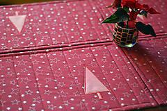 Úžitkový textil - Vianočné prestieranie obojstranné - 10187081_