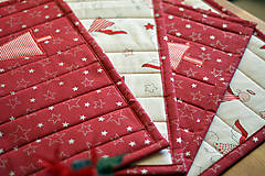 Úžitkový textil - Vianočné prestieranie obojstranné - 10187083_