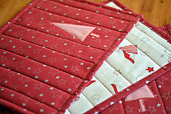 Úžitkový textil - Vianočné prestieranie obojstranné - 10187084_