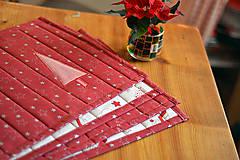 Úžitkový textil - Vianočné prestieranie obojstranné - 10187085_