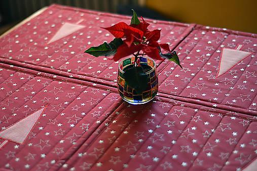 Vianočné prestieranie obojstranné