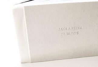 """Papiernictvo - Fotoalbum s tlačou """" svadba """" - 10186658_"""