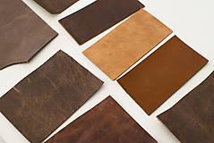 Suroviny - Zbytkový mix hovädzích koží hnedých - 10186747_