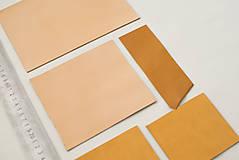 Suroviny - Zbytkový mix hovädzích koží svetlých - 10186814_