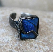 Prstene - Labradorit prsteň - 10188048_