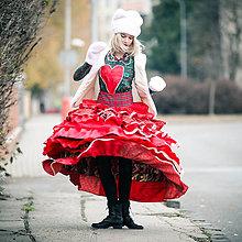 Sukne - Origo sukňa volánoš čary mary kvety folk - 10187943_