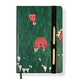 Papiernictvo - Zápisník A5 Hlboko v lese - 10185293_