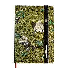 Papiernictvo - Zápisník A6 Amazonskí farmári - 10185347_