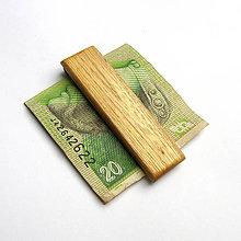 Tašky - Agátová spona na peniaze - 10185851_