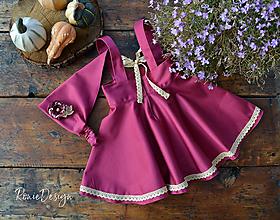 Detské oblečenie - suknička na traky - 10189581_