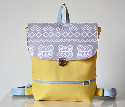 Hugo Girl batoh žltý (Čičmany)